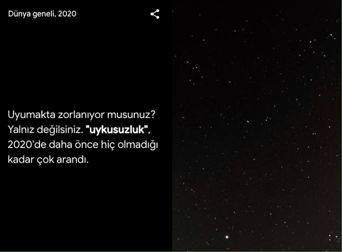 google arama trendleri türkiye uykusuzluk
